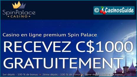 Casino Spin Palace, un site de jeux qui possède toutes les qualités.