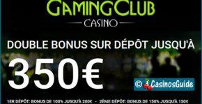 Gaming Club Casino, un palace des machines à sous depuis 1994.