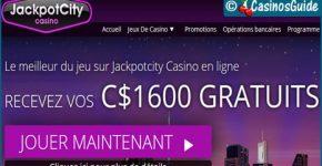 Casino Jackpot City, un excellent choix si vous aimez les machines à sous.
