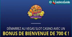 Casino Vegas Slot, une armée de machines à sous, plus de 650 jeux.